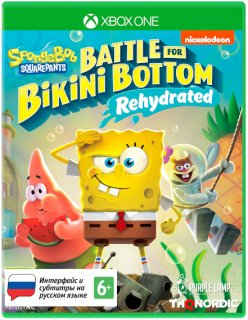 Диск SpongeBob SquarePants: Battle For Bikini Bottom - Rehydrated [Xbox One]