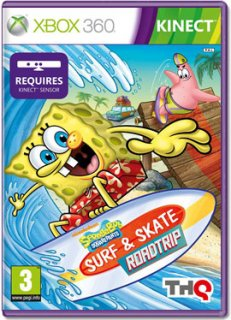 Диск SpongeBob Surf & Skate Roadtrip [X360, MS Kinect]