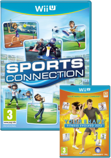 Диск Sports Connection + Your Shape: Fitness Evolved [Wii U]