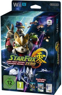 Диск Star Fox Zero - First Print Edition [Wii U]