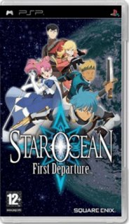 Диск Star Ocean: First Departure (Б/У) [PSP]