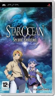 Диск Star Ocean: Second Evolution (Б/У) [PSP]