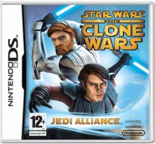 Диск Star Wars The Clone Wars: Jedi Alliance (Б/У) [DS]