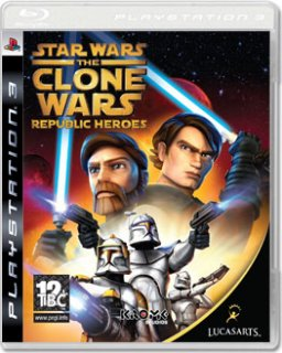 Диск Star Wars: The Clone Wars – Republic Heroes [PS3]