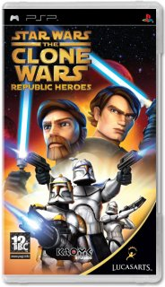 Диск Star Wars: The Clone Wars – Republic Heroes [PSP]