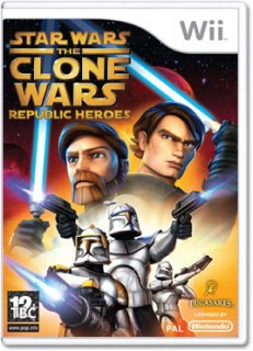 Диск Star Wars: The Clone Wars – Republic Heroes [Wii]