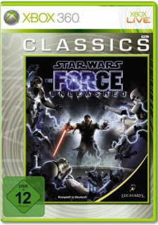 Диск Star Wars: The Force Unleashed. Classic [Xbox 360]