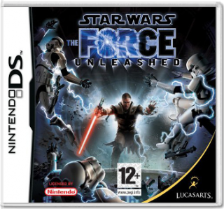 Диск Star Wars: The Force Unleashed [DS]