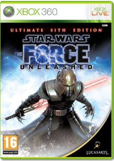 Диск Star Wars: The Force Unleashed. Ultimate Sith Edition [Xbox 360]