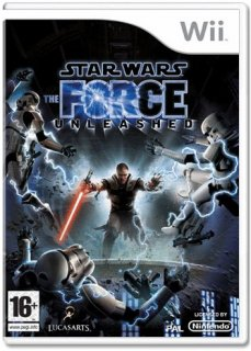 Диск Star Wars: The Force Unleashed [Wii]