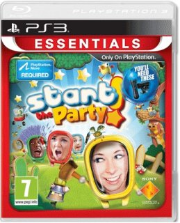 Диск Start the Party! Зажигай! (Б/У) [PS3, PS Move]