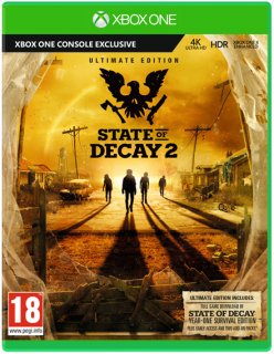 Диск State of Decay 2 Ultimate Edition [Xbox One]
