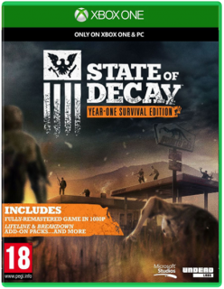Диск State Of Decay: Year-One Survival Edition (Б/У) [Xbox One]