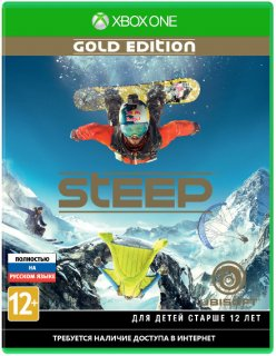 Диск Steep - Gold Edition [Xbox One]