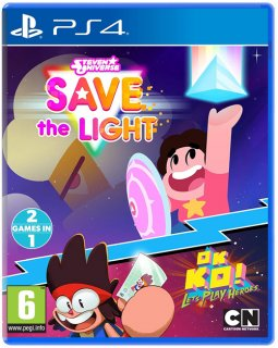 Диск Steven Universe: Save the Light & OK K.O! Let's Play Heroes [PS4]