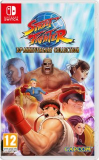 Диск Street Fighter 30th Anniversary Collection [NSwitch]