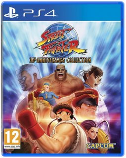 Диск Street Fighter 30th Anniversary Collection [PS4]