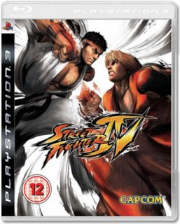 Диск Street Fighter IV [PS3]