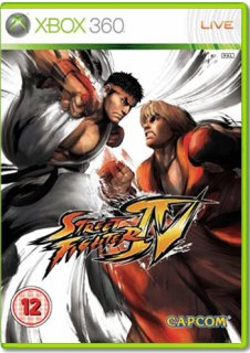 Диск Street Fighter IV (Б/У) [X360]