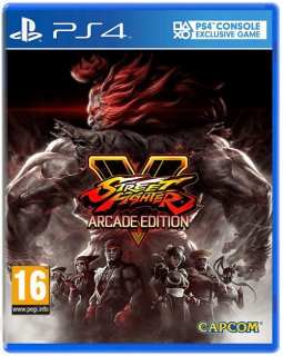 Диск Street Fighter V (5) Arcade Edition (Б/У) [PS4]