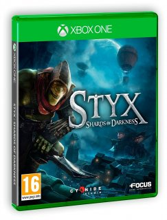 Диск Styx: Shards of Darkness (Б/У) [Xbox One]