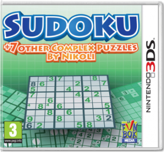 Диск Sudoku + 7 other Complex Puzzles by Nikoli [3DS]