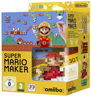 Диск Super Mario Maker - Limited Edition [Wii U]