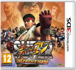 Диск Super Street Fighter IV 3D Edition [3DS]