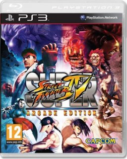 Диск Super Street Fighter IV Arcade Edition [PS3]