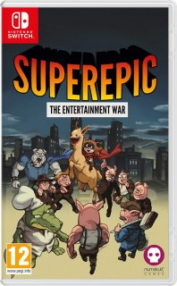 Диск SuperEpic: The Entertainment War [NSwitch]