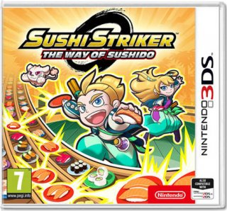 Диск Sushi Striker: The Way of Sushido (Б/У) [3DS]