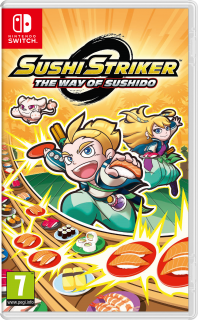Диск Sushi Striker: The Way of Sushido [NSwitch]