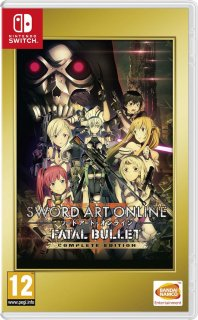 Диск Sword Art Online: Fatal Bullet - Complete Edition [NSwitch]
