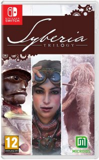 Диск Syberia Trilogy [NSwitch]