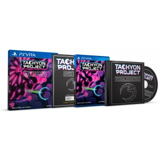 Диск Tachyon Project - Limited Edition (Б/У) [PS Vita]