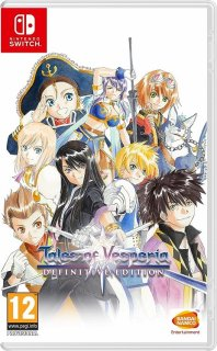 Диск Tales of Vesperia Definitive Edition (Б/У) [NSwitch]