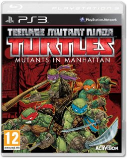 Диск Teenage Mutant Ninja Turtles: Mutants in Manhattan [PS3]