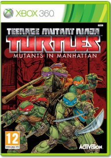 Диск Teenage Mutant Ninja Turtles: Mutants in Manhattan [X360]