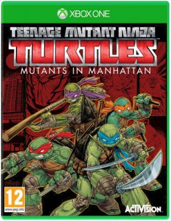 Диск Teenage Mutant Ninja Turtles: Mutants in Manhattan [Xbox One]
