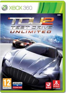 Диск Test Drive Unlimited 2 [X360]