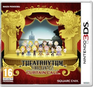 Диск Theatrhythm Final Fantasy Curtain Call [3DS]
