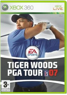 Диск Tiger Woods PGA Tour 07 (Б/У) [X360]