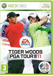 Диск Tiger Woods PGA Tour 11 (Б/У) [X360]