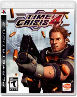 Диск Time Crisis 4 (US) (Б/У) [PS3]