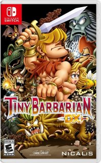 Диск Tiny Barbarian DX [Nswitch]