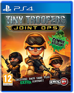 Диск Tiny Troopers Joint Ops [PS4]