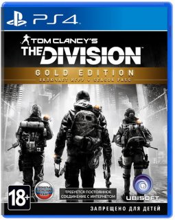 Диск Tom Clancy's The Division - Gold Edition [PS4]