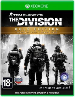 Диск Tom Clancy's The Division - Gold Edition [Xbox One]