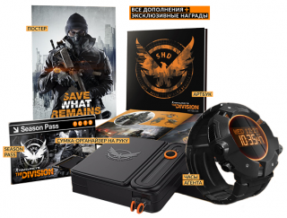 Диск Tom Clancy's The Division - Sleeper Agent Edition [PS4]
