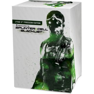 Диск Tom Clancy's Splinter Cell Blacklist - The 5th Freedom Edition [PC]